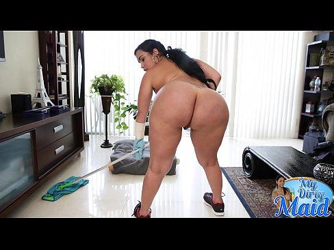 BANGBROS – Cuban Maid, Destiny, Reveals Her Big Ass and Big Tits Then Gets Fucked