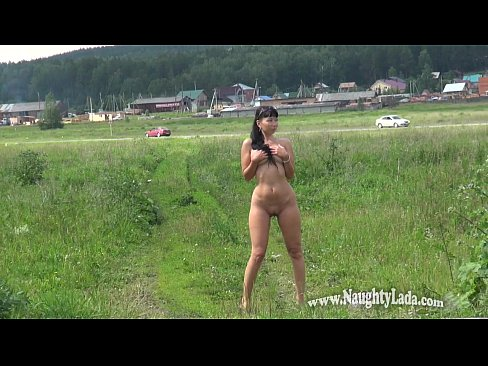 cover video nude in public street and road