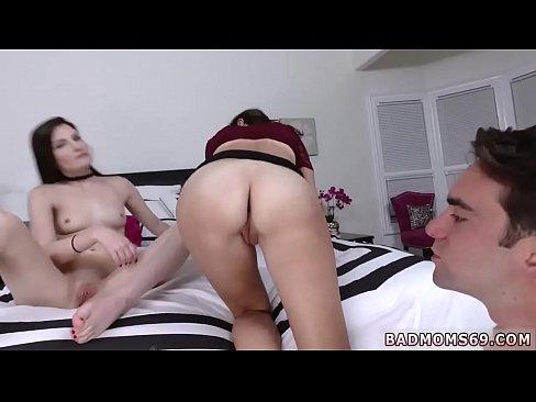 Nice brunette hot milf blowjob sucking Lewd Wet mother patron's daughter Photoshoot