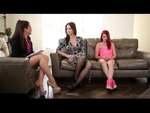 cover video the family t herapist   elle alexandra allie haze angela sommers