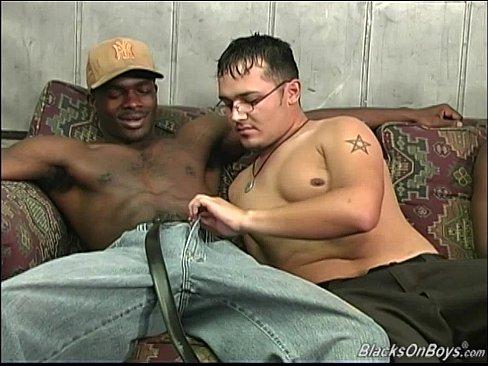 Horny hung men
