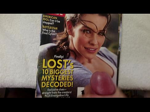 Evangeline Lilly cum tribute - Download mp4 XXX porn videos