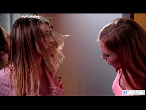 Catfight then lesbian sex – Kristen Scott and Ava Parker