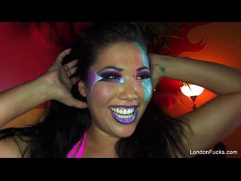 London Keyes Halloween Fuck 8 min 720p