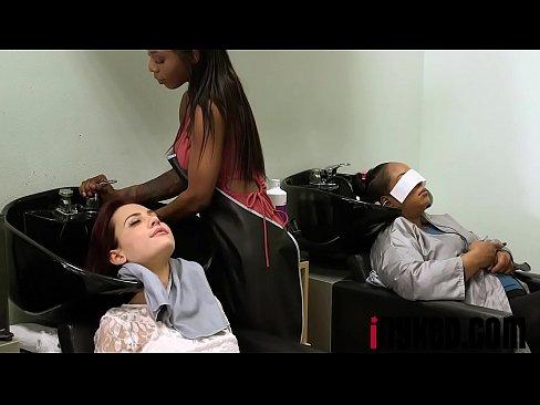 sarah banks sabina rouge in full service hair salon