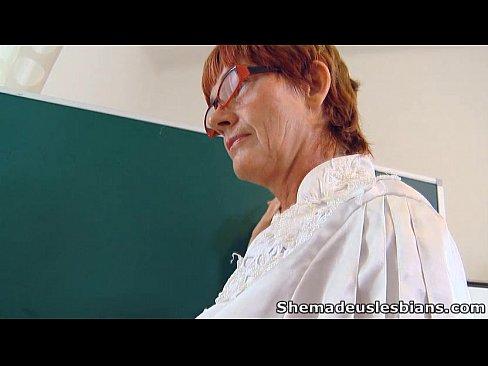 video teacher Sexy lesbian