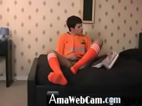 Gay sock wank