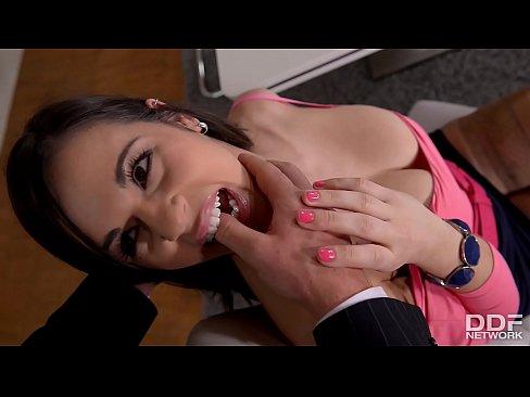 Busty Spanish Secretary Nekane Gets Her Big Butt Fucked At Work