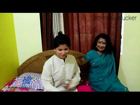 aunty Desi old