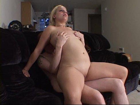 Hot blonde seduces for sex