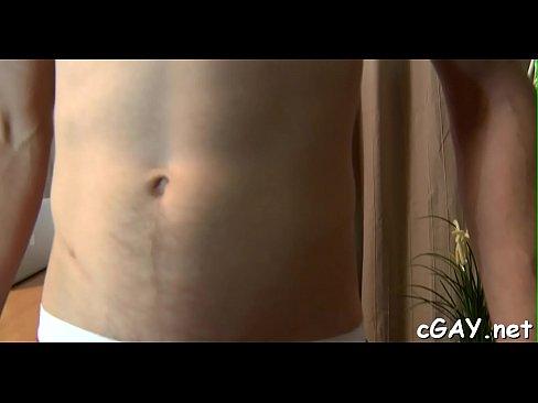 Bawdy gay chaps anal fucking