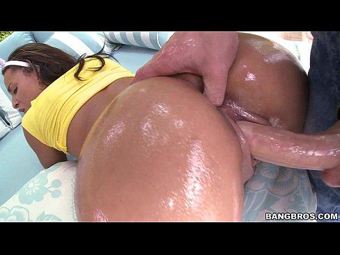 Ebony Sucking White Cock Pov