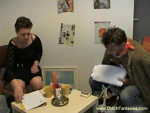 Dutch milf has another fantasy