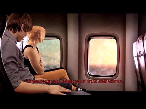 Imagin Femei In Colant Xxx Se Fut In Avion Brutal