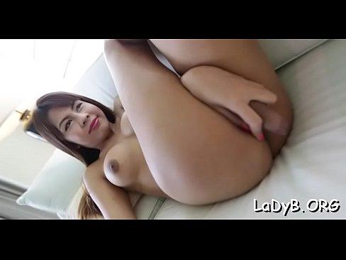 TS Izadora Ribeiro Fucks Her Ass With A Dildo