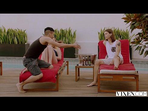 VIXEN Teen Cheats With Ex Boyfriend On Vacation