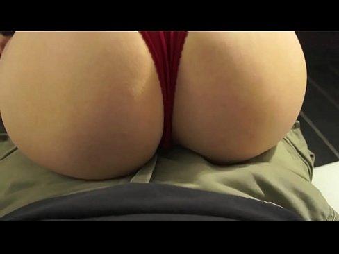 big tit lap dance