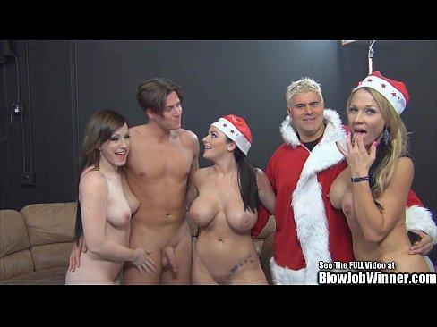 Free nonton vidio bokep Big Boob Christmas Blow Job Winner Porn Stars
