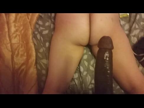 behind ebony Pussy from