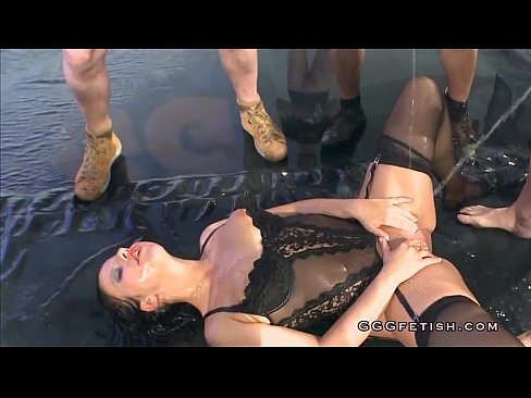 Sluts will get hard fucking and hot sshow pissing