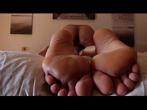 blowjob feet view
