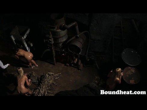 Aneta naked nude spanked