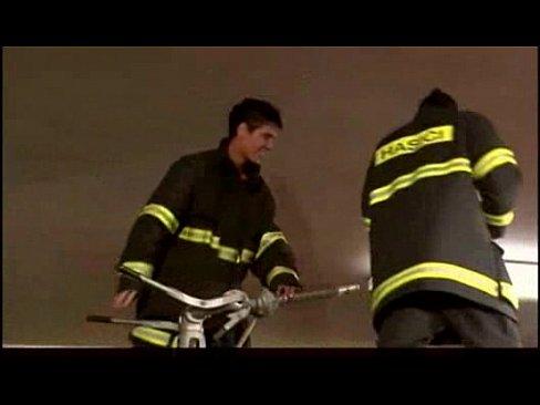 clips firemen Hardcore gay