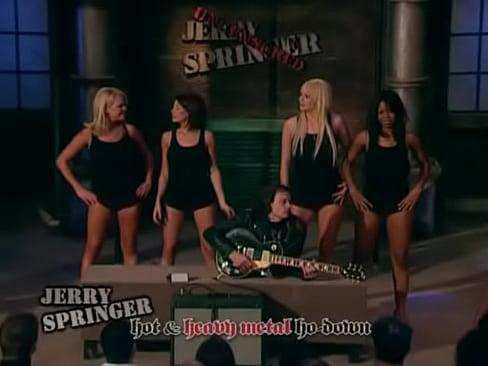Jerry springer talkshow naked rumble