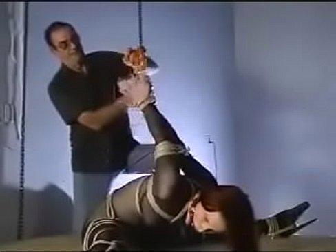 Bondage in boot slaves