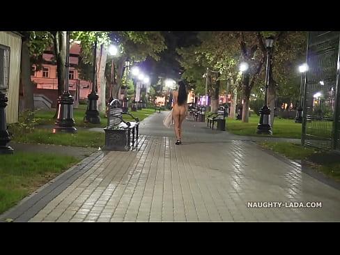 Night Flashing. Walk naked in public.