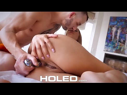 Good morning big dick anal fuck and creampie with Moka Mora
