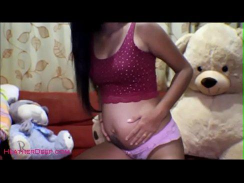16 week pregnant thai teen heather deep dido creamy squirt 4