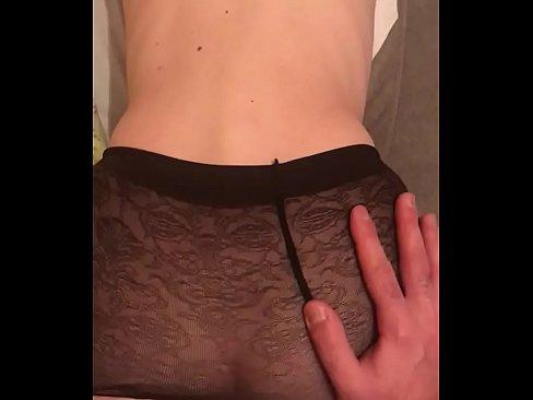 Whole hand anal masturbation