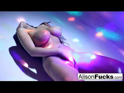 Sexy Big Boobed Disco Ball Babe