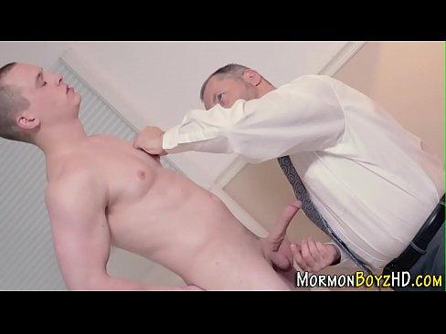 Religious mormon jerking