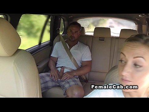 Tiny milf female taxi driver black dick we
