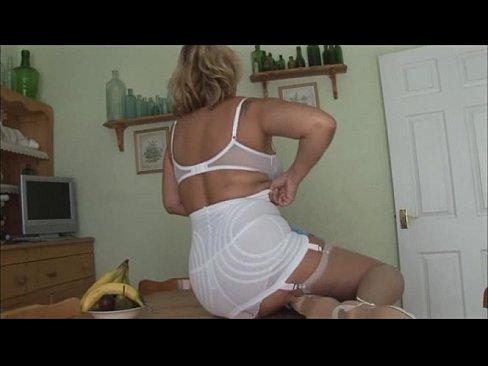curvy Mature girdle