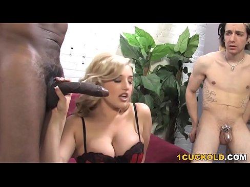 dayna vendetta enjoys big black cock in front of cuckold