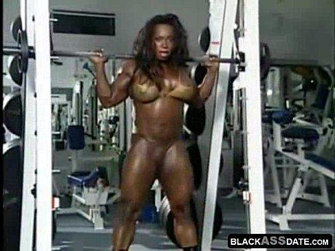 Ebony Bodybuilder Sex