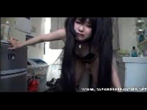 XVIDEO パイパンの彼女とライブ配信でハメ撮りセックス