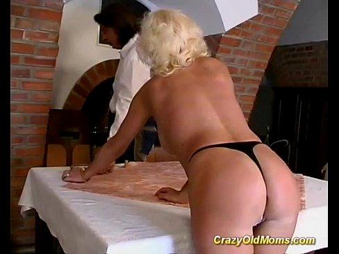 German Mom Enjoys Her First Anal Sex