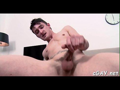 Lusty homo males intercourse