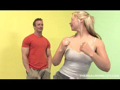 after a hard fuck Sara Vandella licks her Karate masters cum in the floor – Hardcore sex video – TubXXX Sex Videos 3gp