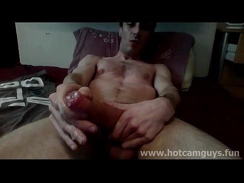 Huge Cock Black Guy Jerking On Cam
