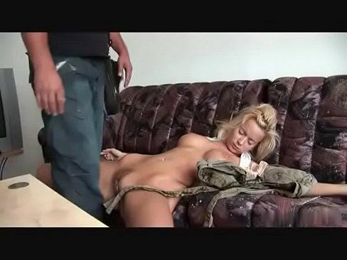 Burglar has his way with hot blond christina