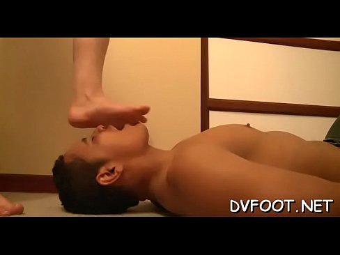 Cutie shows her sexy feet