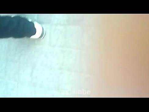 Blonde slim Japanese cutie cunt tickled in her pantyhose