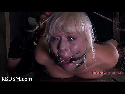Up needs Caged castigation gal