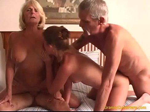 Teen fucks her Grand Parents