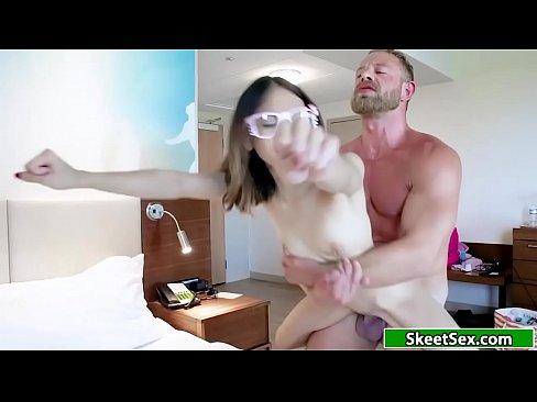 Jasmines tight ass and pussy fucked hard – 6 min